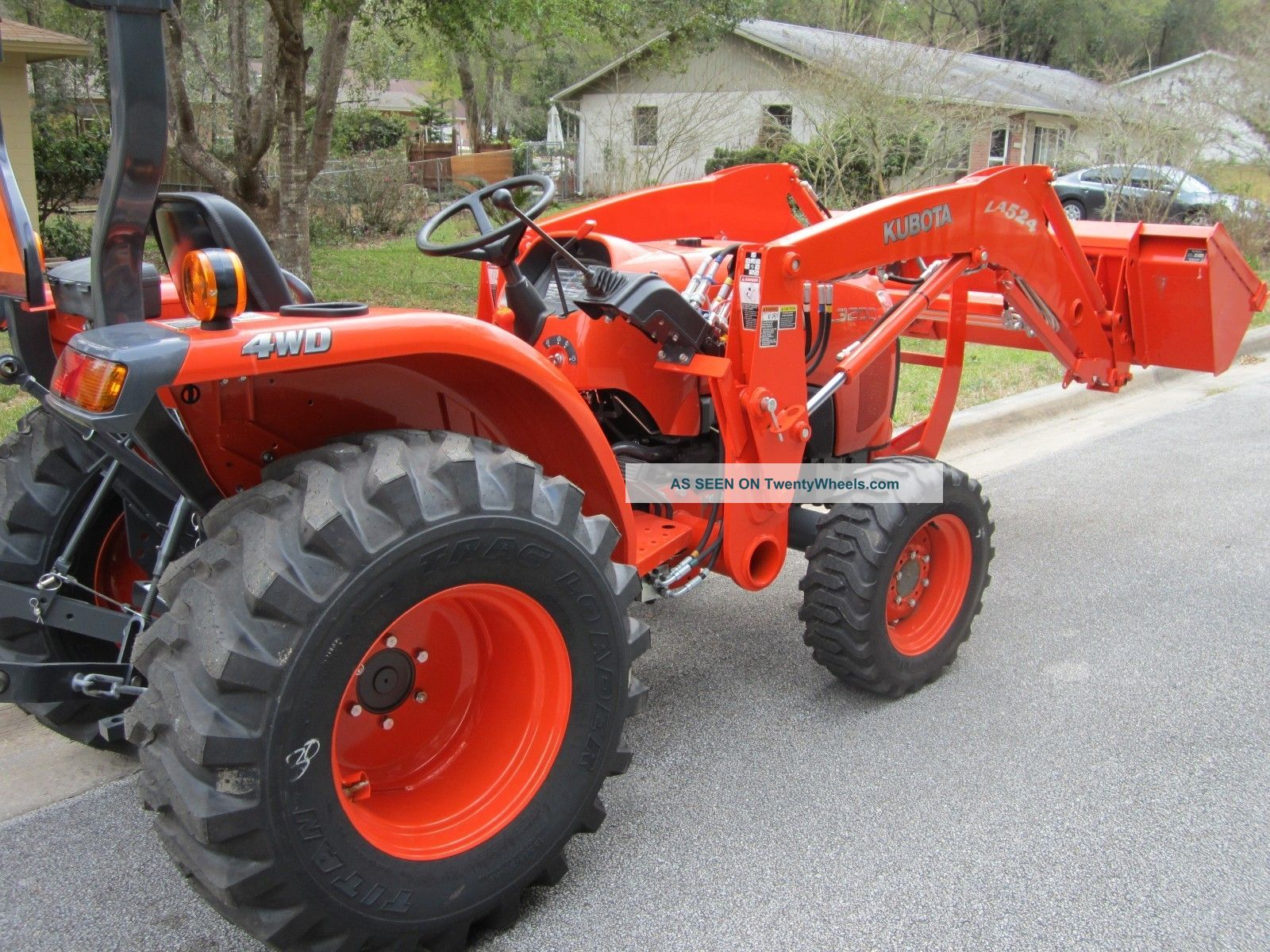 2013 kubota l3200 4x4 compact tractor only 15hrs. with an ... kubota v2003t engine diagram