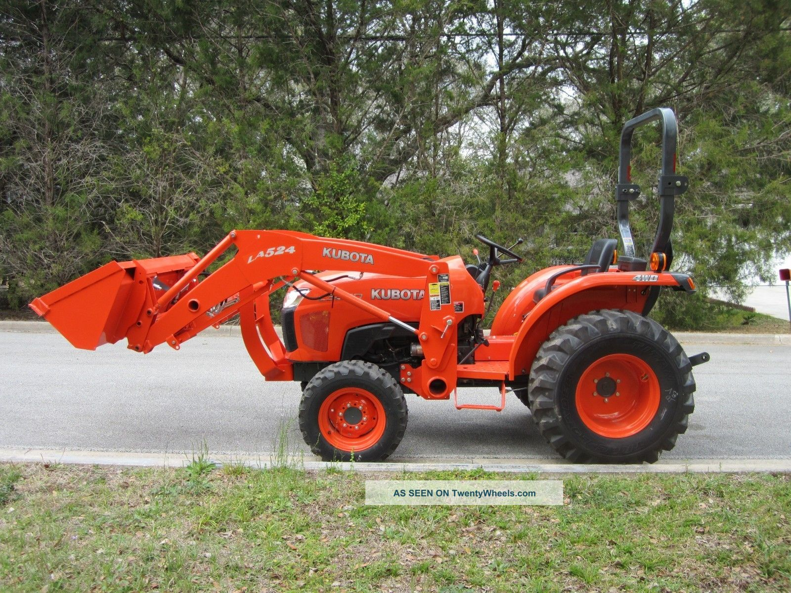 2013 kubota l3200 engine diagram 2013 kubota l3200 4x4 compact tractor only 15hrs. with an ...