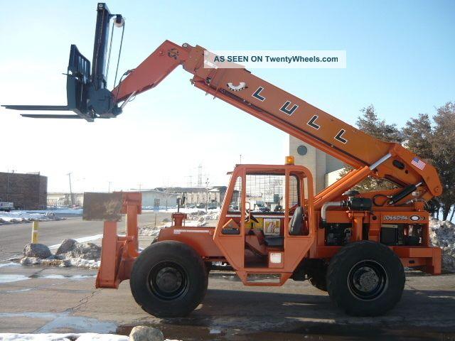 Telescoping Lift Arms On John Deere Tractor : Lull jlg c telescopic forklift telehandler