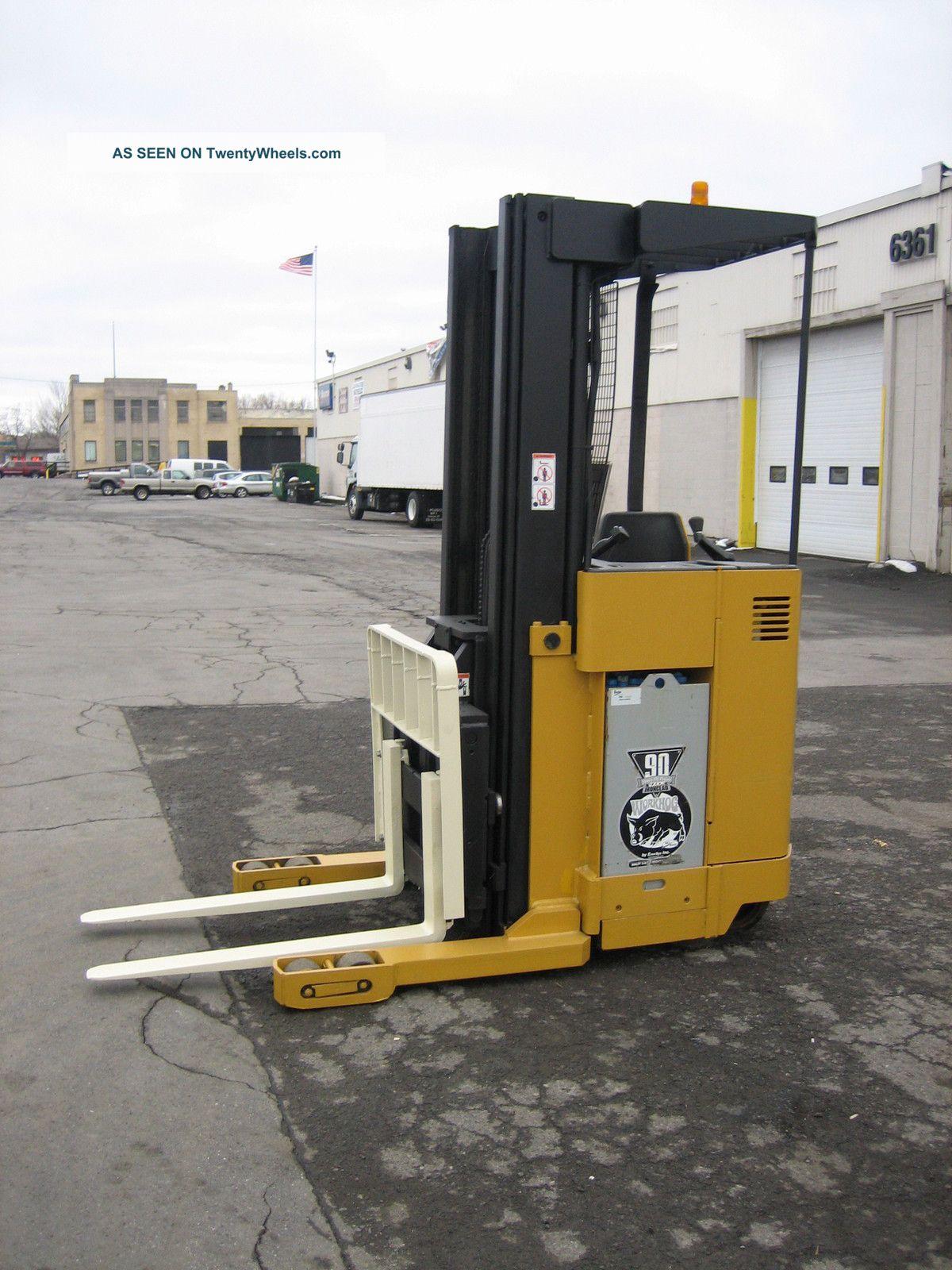 Yale Forklift Reach Truck 3500lb 212 Quot Lift 24 Volt W