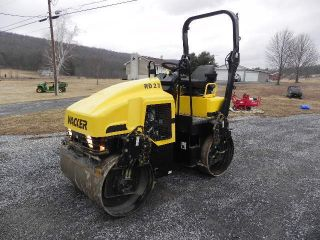 2004 Wacker Rd27 Smooth Drum Asphalt Vibratory Roller Cat Cb244e 47