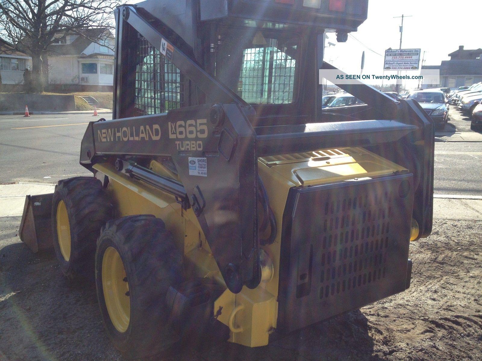 1995 Holland Lx665 Turbo Skid Steer Loader Lx665