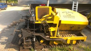 2000 Mauldin 1500 Track Paver With Poly Pads photo