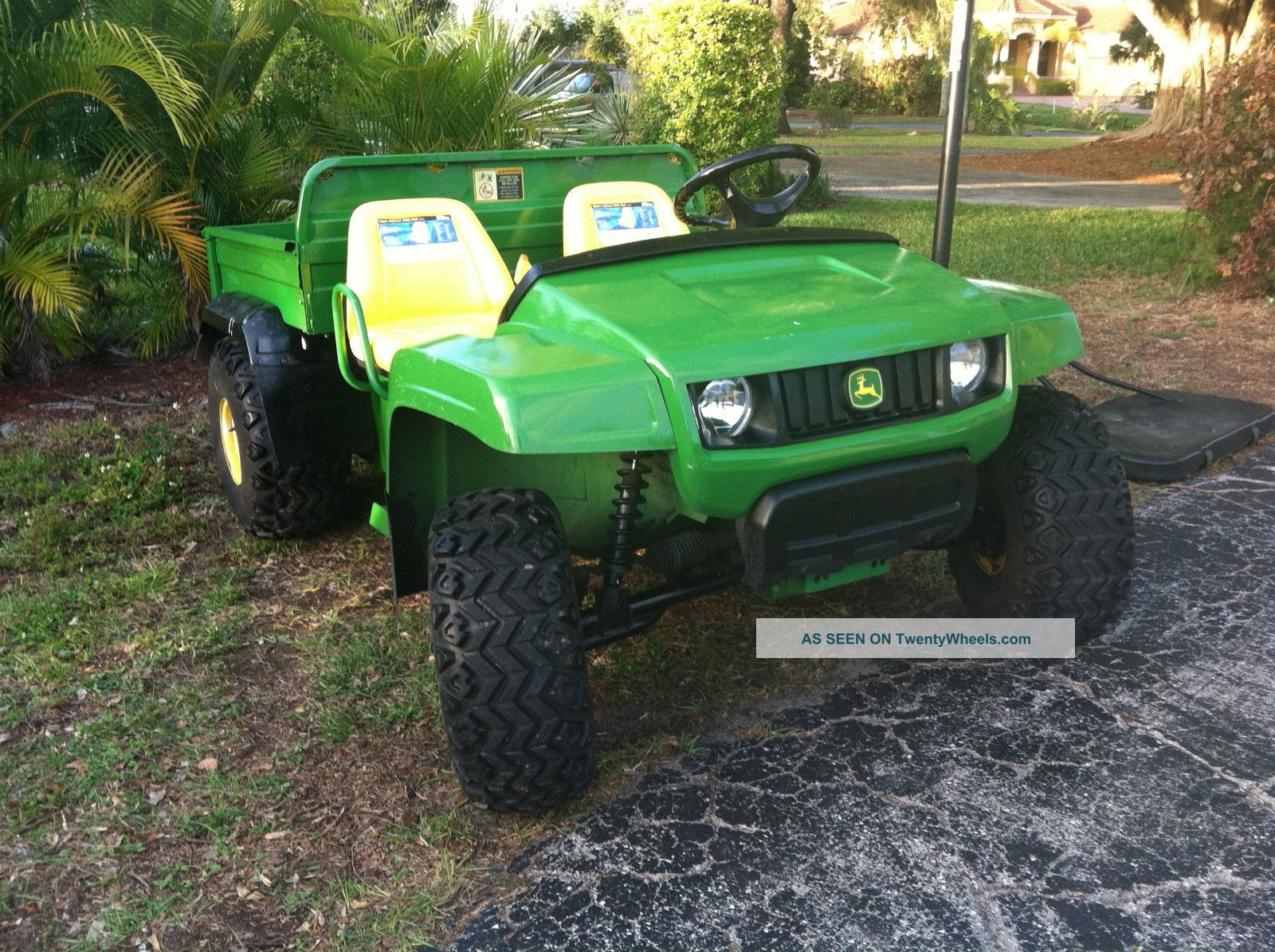 John Deere,  Ts Gator,  2007,  Utv,  Atv,  Dump Bed, Utility Vehicles photo