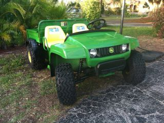 John Deere,  Ts Gator,  2007,  Utv,  Atv,  Dump Bed, photo