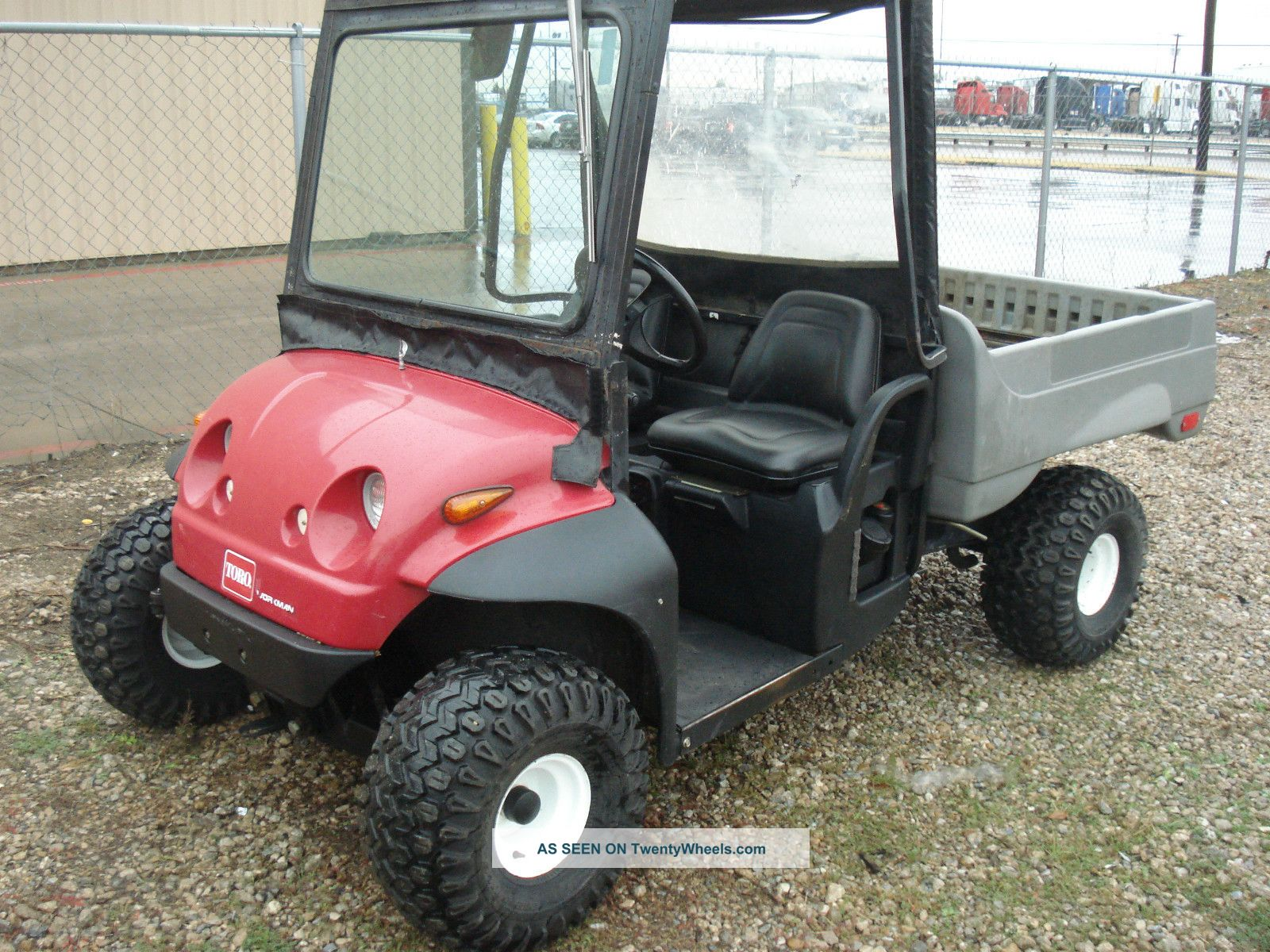 2003 Toro Workman With Hydraulic Dump Bed 1260 Hours Utility Vehicles photo