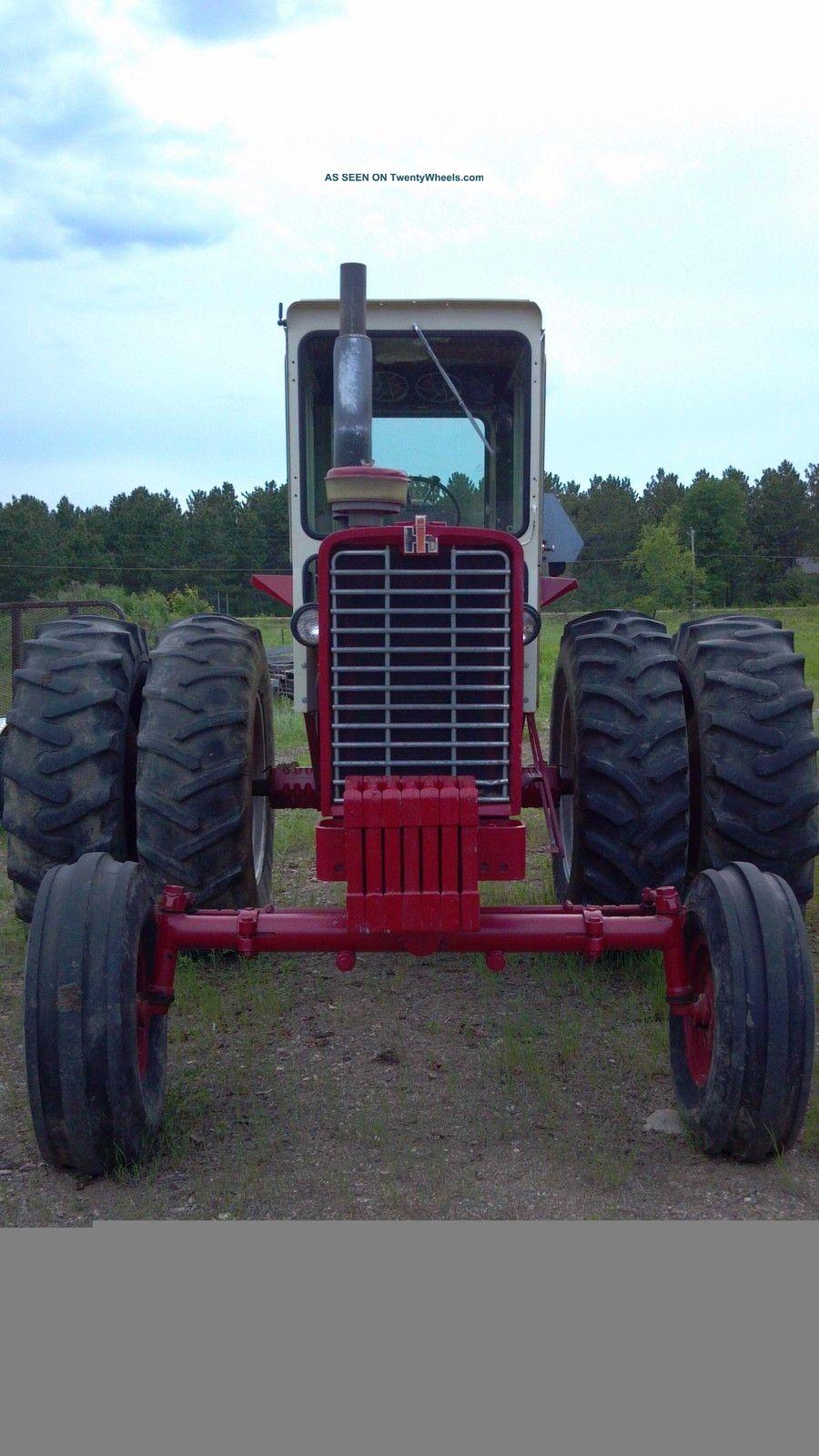 John Deere Gator >> International Farmall 1026 Hydro Tractor