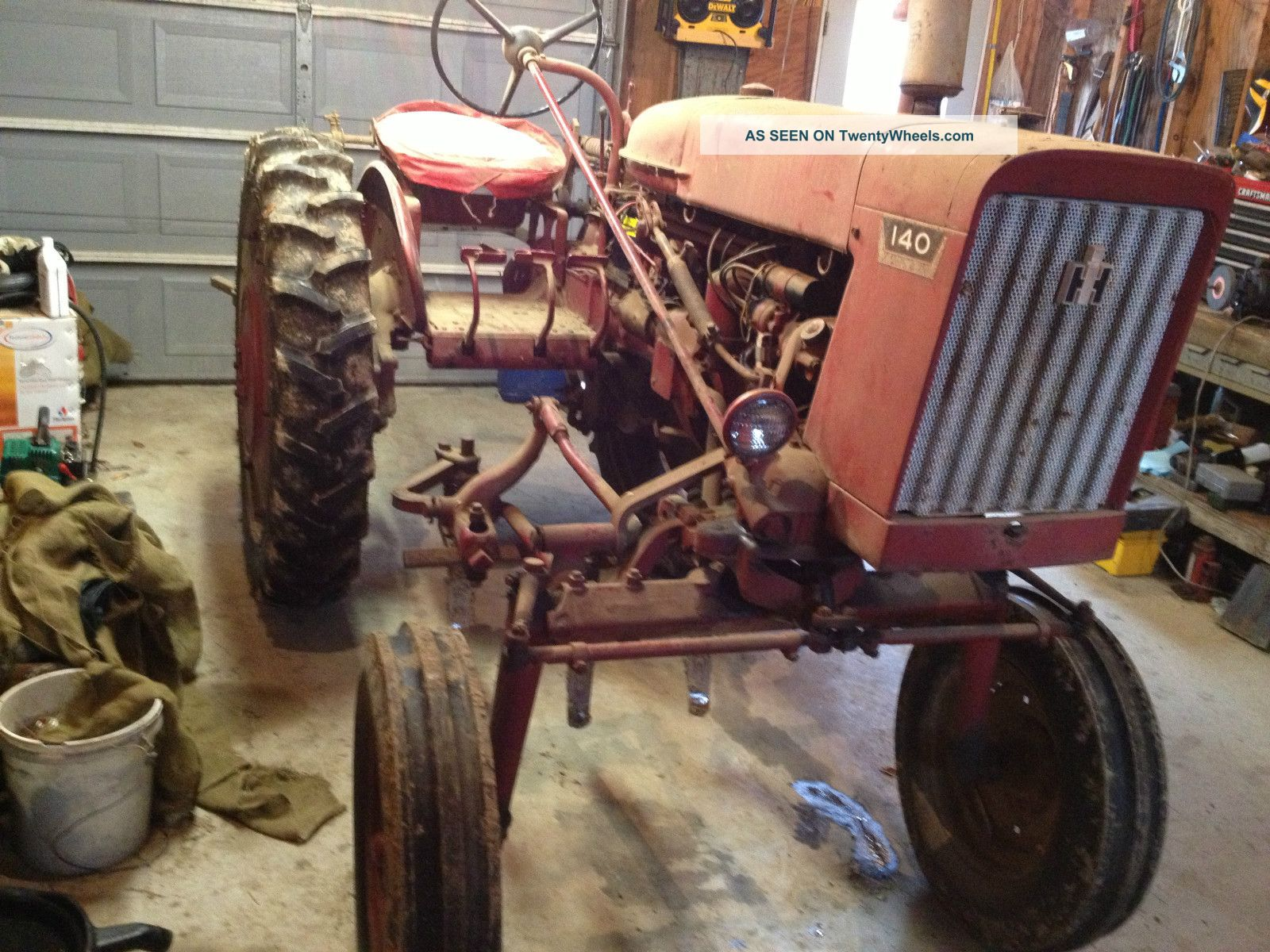 Farmall International 140 High Clearence Tractor With Cultivators Tractors photo
