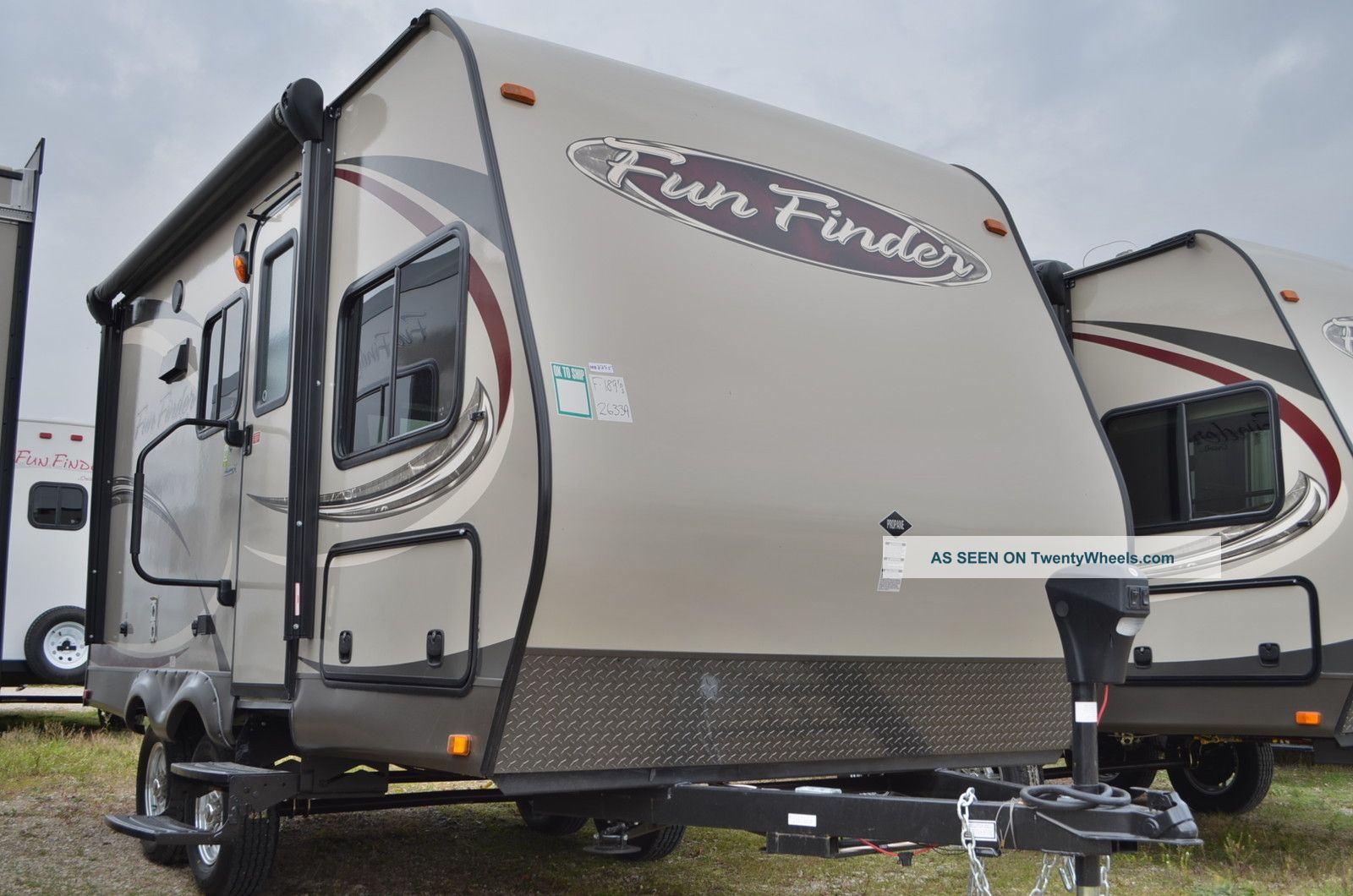 2013 Cruiser Rv Fun Finder 189fds Travel Trailers photo