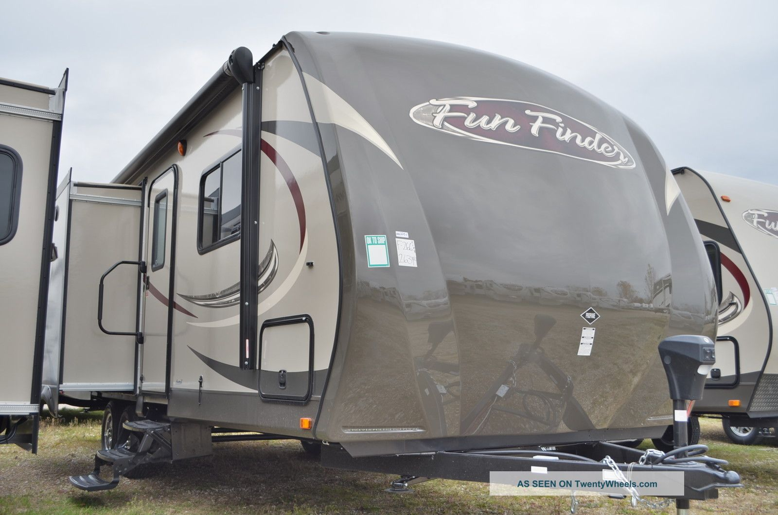 2013 Cruiser Rv Fun Finder 266kirb Travel Trailers photo