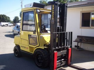 Forklift Hyster H65xm photo