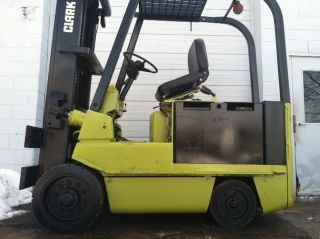 Clark Electric Cushion 8000 Lb Ec500 - 80 Forklift Lift Truck photo