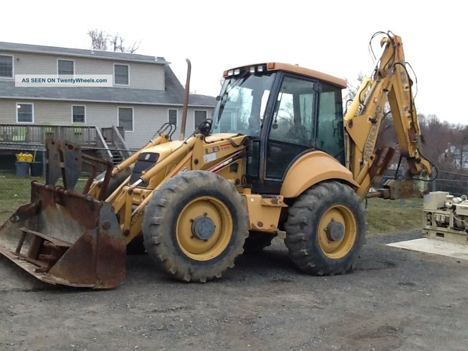 Lb 115 Backhoe 4x4 Ext Hoe 4 Way Bucket Concrete Hammer Backhoe Loaders photo