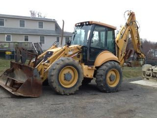 Lb 115 Backhoe 4x4 Ext Hoe 4 Way Bucket Concrete Hammer photo