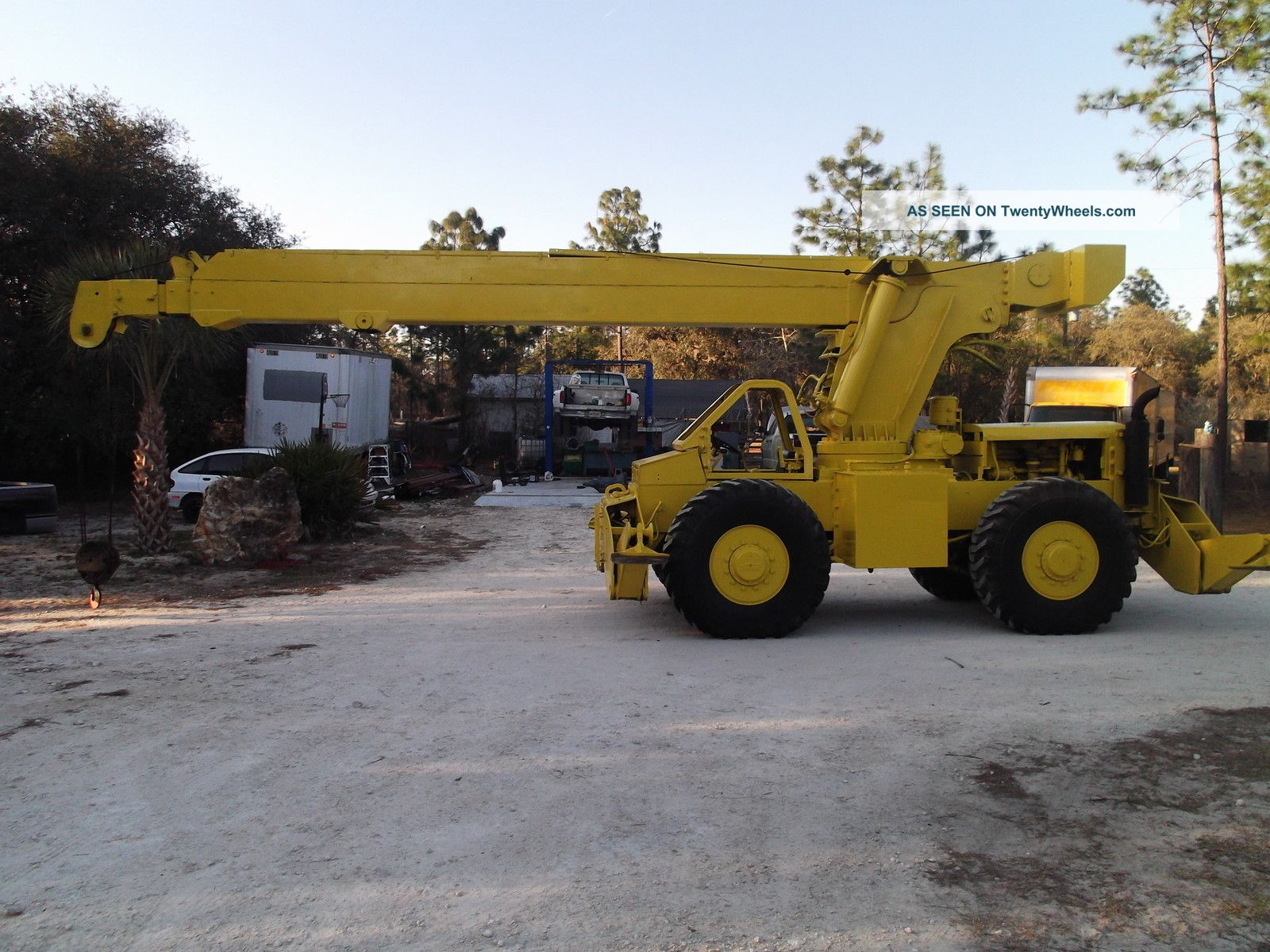 Pettibone 15 Ton Rough Terrain 4x4 Crane Located In Dunnellon Florida Cranes photo