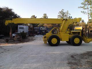 Pettibone 15 Ton Rough Terrain 4x4 Crane Located In Dunnellon Florida photo