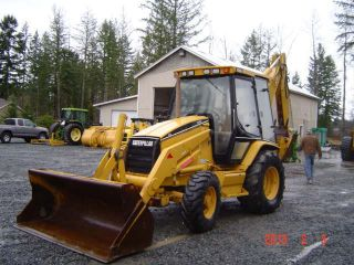 1998 Caterpillar 426c Backhoe Cab Ext Hoe photo