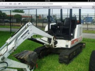 Bobcat X325 Excavator 1998,  Local Delivery. photo