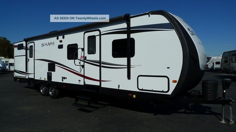 2013 Forest River 317bhsk Solaire Travel Trailers photo
