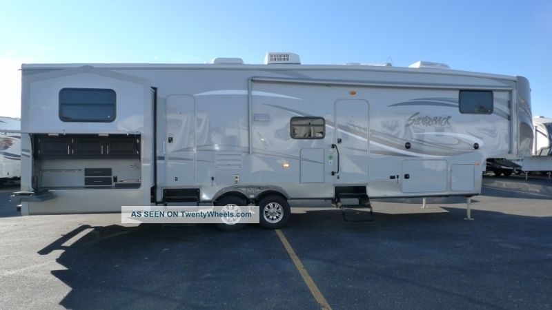2013 Forest River Cedar Creek Silverback 35 Qb4 Quad Bunk Outdoor Kitchen Fifth Wheel Fifth Wheel RVs photo