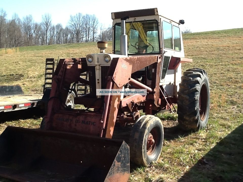 Case 930 Comfort King Cab Loader Tractors photo