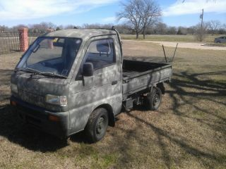 Camo Suzuki Carry Japanese Kei Mini Truck 4x4 photo