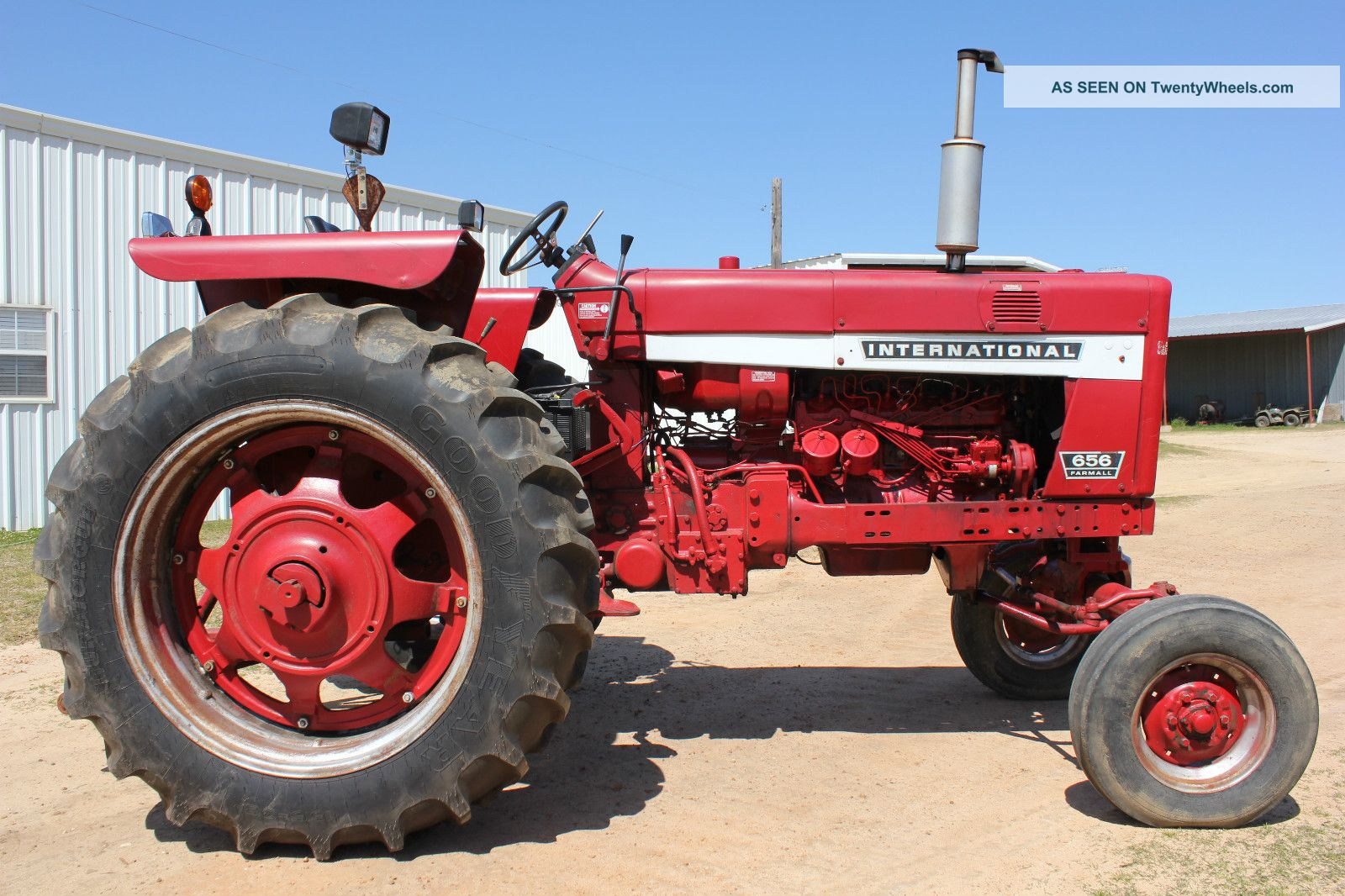 Farmall 656 Tractor : International farmall hydro tractor