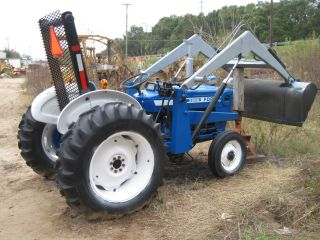 Ford 3600 Diesel Tractor Rebuilt Motor photo