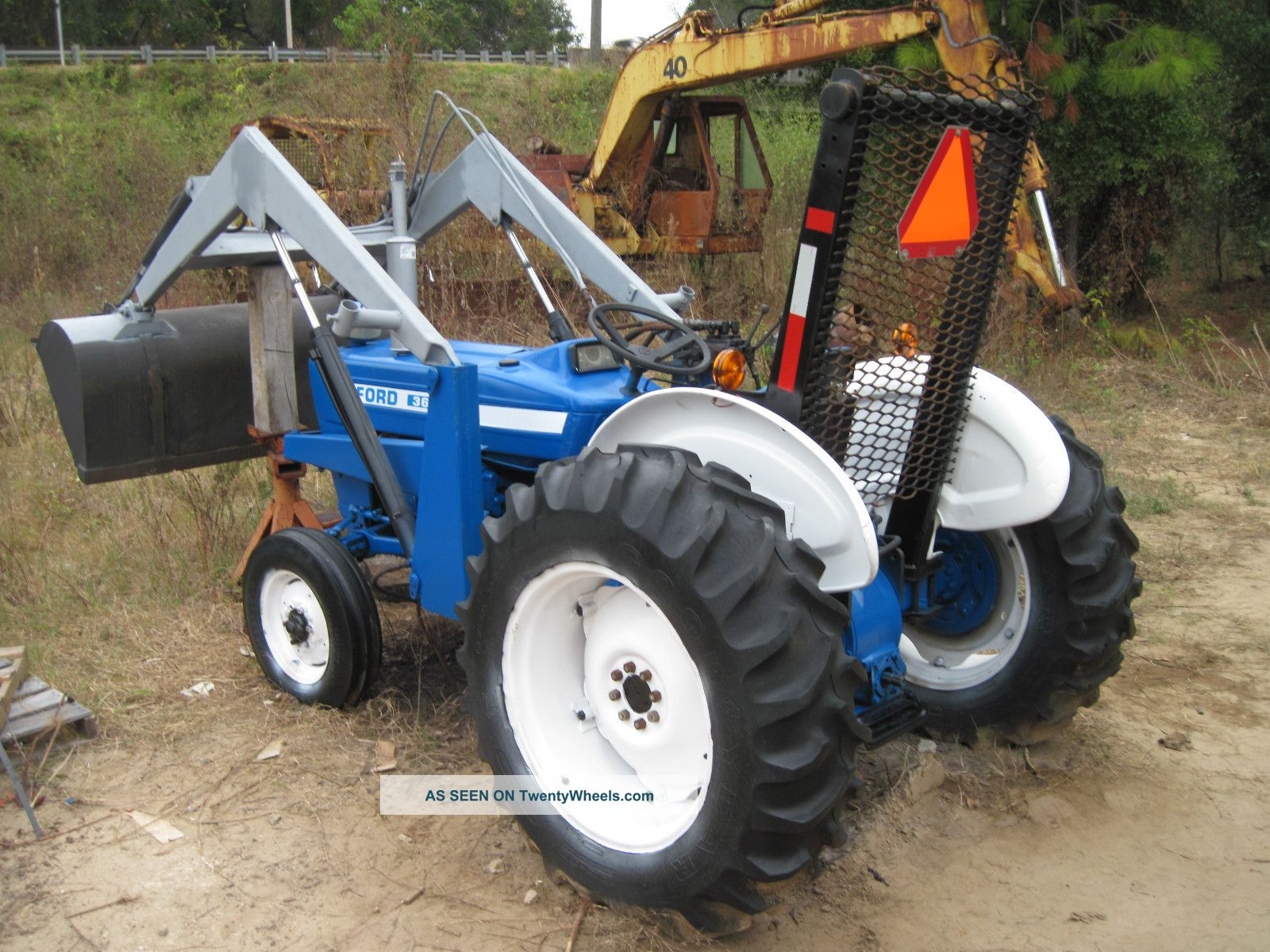 Ford 3600 Tractor : Ford diesel tractor rebuilt motor