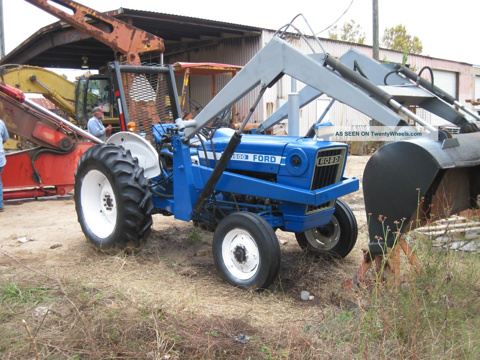 Ford 3600 Tractor Data : Ford diesel tractor specs