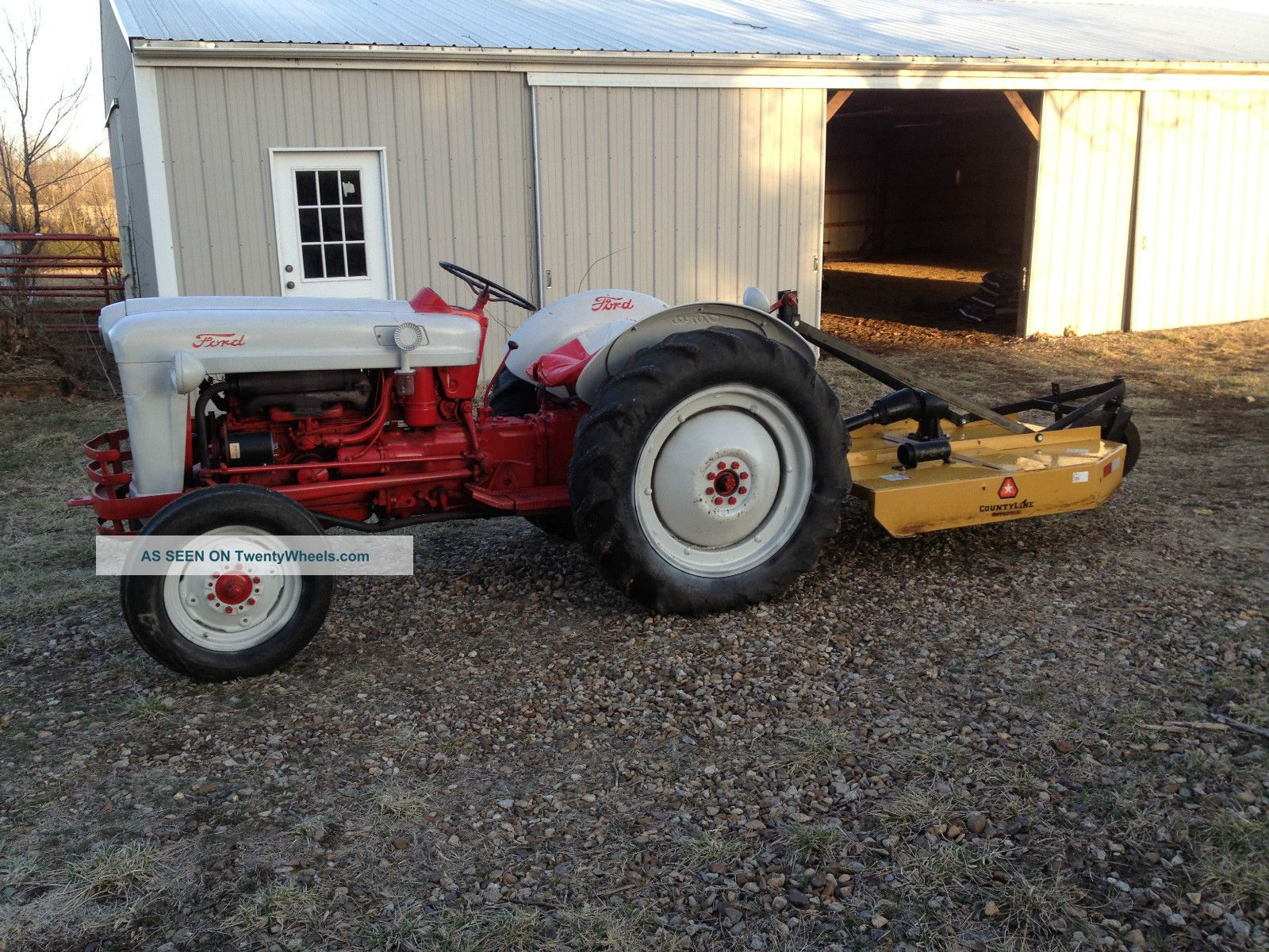 Ford Jubilee Specifications : Ford jubilee tractor hp