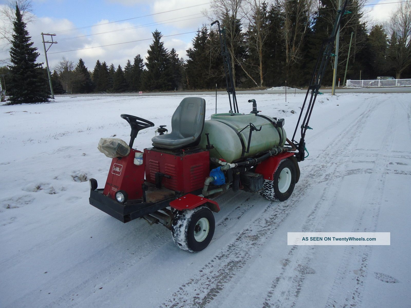 Toro Multi Pro 1100 With Raven Controller Utility Vehicles photo
