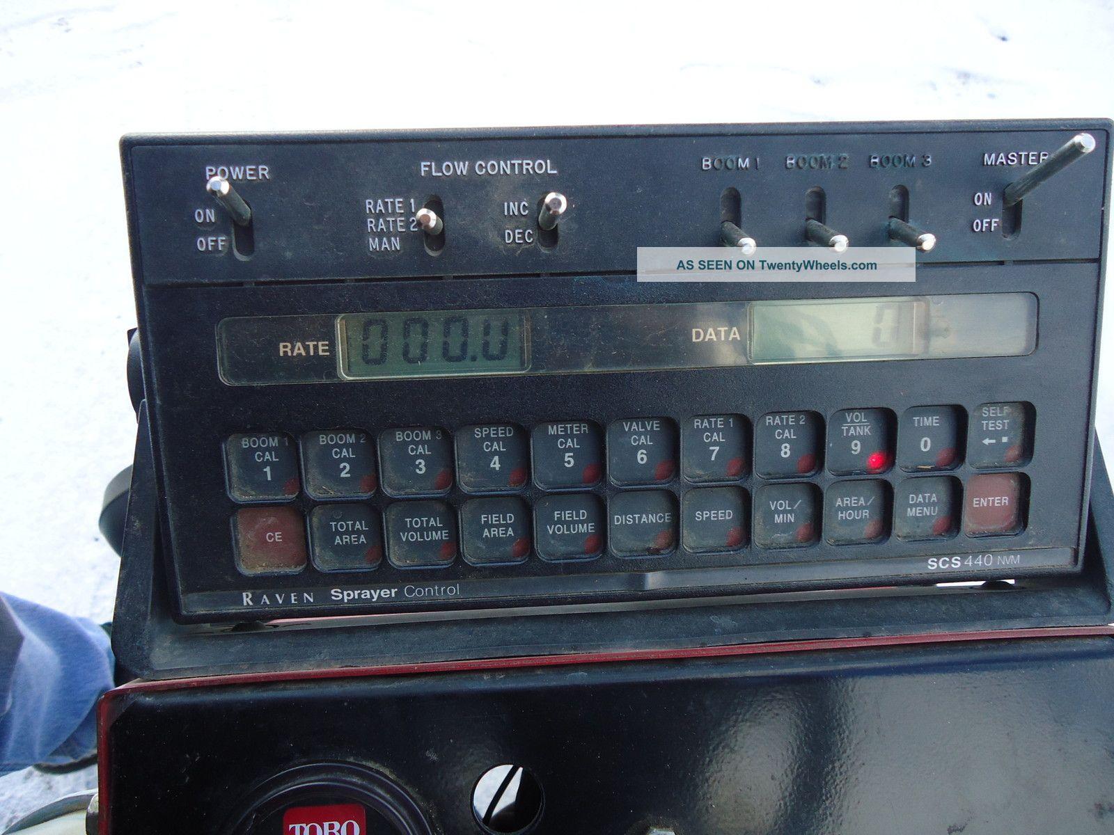 Toro Multi Pro 1100 With Raven Controller