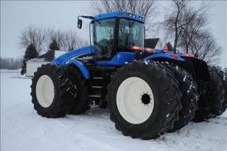 2003 Holland Tj425 Tractor photo
