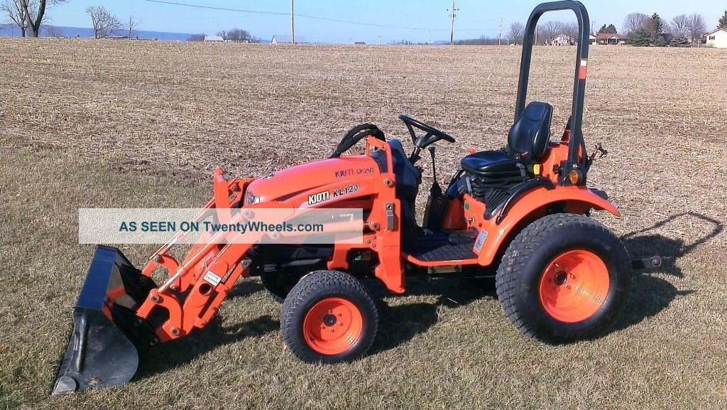 Kioti Compact Tractors : Kioti ck s compact tractor w kl loader one