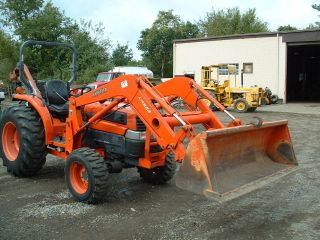 Kubota L4630gst Tractor Loader,  Good Shape photo