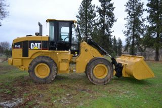 2005 Cat 924g Wheel Loader 3 Yard Bucket With Quick Attach photo