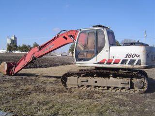 Link Belt L160lx Excavator photo