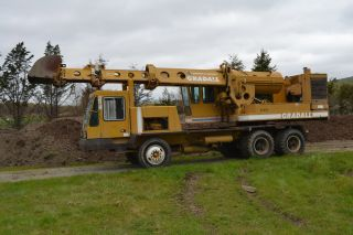 G660 Gradall Wheel Excavator 1979 Run And Operates Great photo