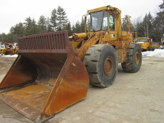1986 Cat 966d Wheel Loader photo