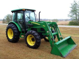 2008 John Deere 5603 4x4 Tractor W Loader photo