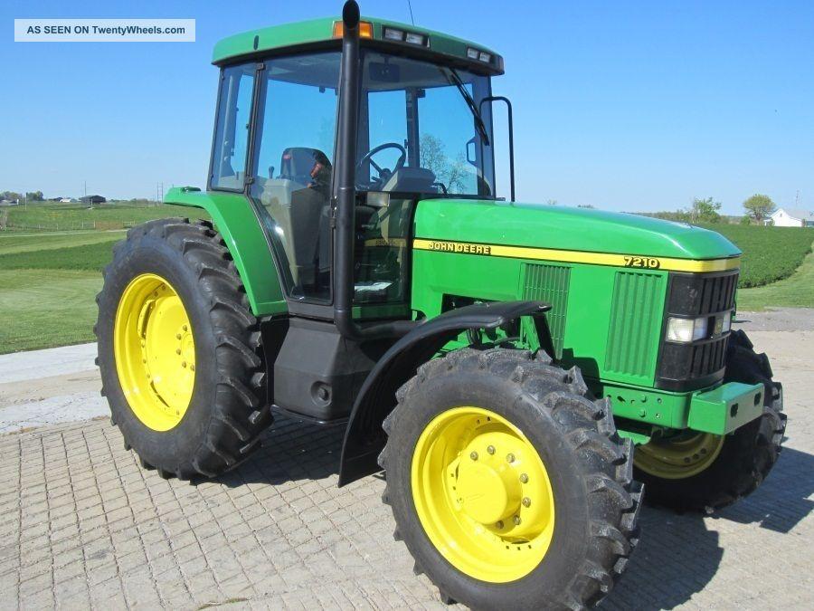1997 John Deere 7210 4wd Tractor