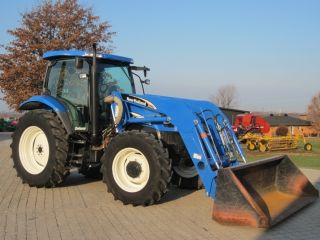 2006 Holland Ts115a 4wd Tractor W Loader photo