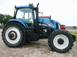 2004 Holland Tg255 4wd Tractor photo