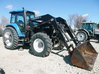1996 Holland 8670 4wd Tractor photo