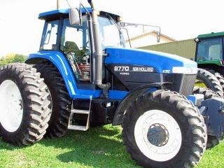 1998 Ford 8770 4wd Tractor photo