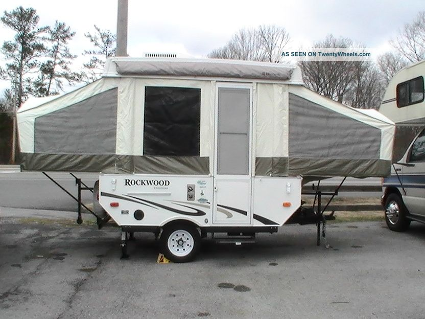 2012 Rockwood Freedom 1640ltd Folding Camping Trailers photo