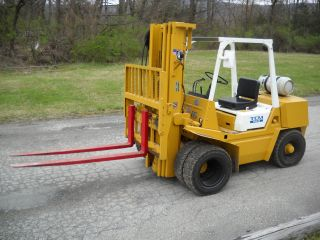 6000 Lbs Tcm Forklift Propane Power photo