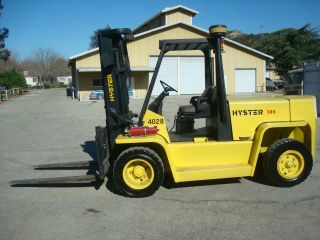 Hyster H1 135xl2 2003 Heavy Duty 13500 Lbs Load Capacity,  Low Profile Propane photo