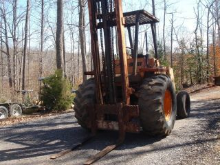 1980 Case 584c 4,  000 Lb Lift,  Case 188 Diesel,  57 Hp,  Side Shift,  21 Ft Mast photo